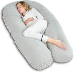 #1 AngQi Full Body Pregnancy Pillow